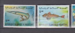 Mauritanie YV 481/2 N 1981 Poissons - Fische