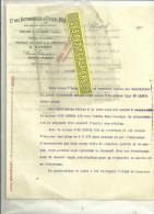 80 - Somme - ALBERT - Facture HURTU - Automobiles Et Cycles – 1900/1920 - France