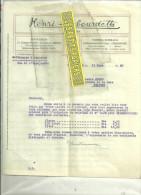 92 - Hauts-de-seine - COURBEVOIE - Facture Henri LABOURDETTE - Carrossier – 1925 - Frankreich