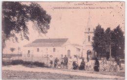 ANDERNOS-les-BAINS - Les Ruines Et L'Eglise St Eloi - Ed. L.T. - Andernos-les-Bains