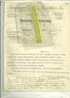 63 - Puy-de-dôme - CLERMONT-FERRAND - Facture RIEGEL & BERIOUX - Manufacture D'automobiles – 1918 - France