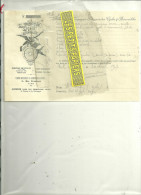 75 - Paris - PARIS - Facture COMPAGNIE FRANCAISE DES CYCLES ET AUTOMOBILES – 1907 - 1900 – 1949