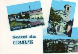 Saluti Da  CERMENATE  , Como - Como