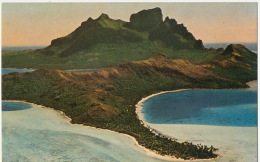 Bora Bora Aerial View Vue Aerienne - French Polynesia
