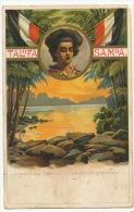 Litho Talofa Samoa Ausstellung Samoa Unsere Neuen Landsteute Giesecke Devriert Defect - Samoa