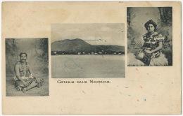 Gruss Aus Samoa Edition A. Tattersall Multi View - Samoa