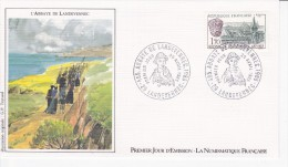 LANDEVENNEC (29) Abbaye, Millénaire, Pèlerinage, Dessin De G.P. Teytaud,  FDC 20/04/1985 - FDC