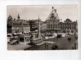Lille, Place Du Gal De Gaulle, Devantures - Ed Fauchois 4 - Dufresne/Paris - Marianne Muller - Flamme Lille Gare - Lille