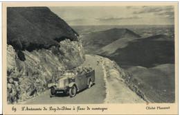 L'AUTOROUTE DU PUY DE DOME A FLANC DE MONTAGNE - Bus & Autocars