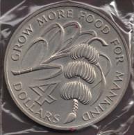 GRENADA 4 DOLLARS 1970 FAO Bananas Cocoa Bean KM# 15 - Autres – Amérique