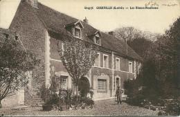 YVELINES - Guerville  - Les Blancs Manteaux   Carte Sépia - Sin Clasificación