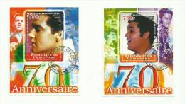 Cameroun  Blocs Elvis  2005 - Cameroon (1960-...)