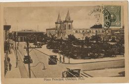 Chiclayo Plaza Principal  Circulada A Rio De Janeiro Brasil Edicion M.C. Del Castillo Postcard Club - Pérou