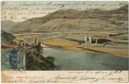 Urcos Puente Colgante Pont Suspendu Suspension Bridge Desde Trujillo A Valladolid - Pérou