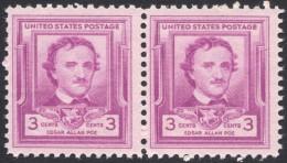 United States,  3 C. 1949, Sc # 986, Mi # 600, MNH Pair - Verenigde Staten