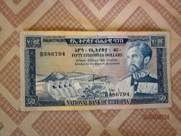 50 $ Haile Selassie 1966 - Ethiopia