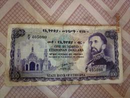 100 $ Haile Selassie 1961 (rare) - Ethiopia