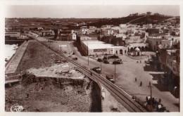 CPSM, Safi, Avenue Du Port , Animée, Ligne De Chemin De Fer, édition Martin - Otros
