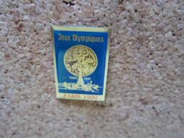 PINS JEUX OLYMPIQUES EXPOSITION DE PARIS 1900 - Jeux Olympiques