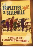 """Cinéma.. Film D'Animation.. """"Les Triplettes De Belleville"""".. Affiche.. B.D - Film"""