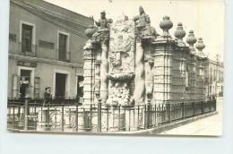 MEXICO  Monument, Fontaine (carte Photo ). - Mexique