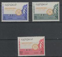 Iraq - Irak (1969) Yv. 531/33  /  ILO - Iraq