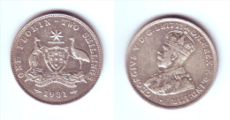 Australia 1 Florin 1931 (m) - Monnaie Pré-décimale (1910-1965)