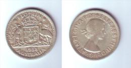 Australia 1 Florin 1958 (m) - Monnaie Pré-décimale (1910-1965)