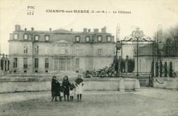 CHAMPS SUR MARNE - Le Château 5 Fillettes - Other Municipalities