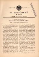 Original Patentschrift - W. Racke In Starnberg , 1897 , Maschine Für Kugeln , Kugel , Metallbau !!! - Maschinen