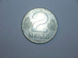 RDA 2 Marcos 1974 (738) - [ 6] 1949-1990 : GDR - German Dem. Rep.