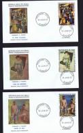 MALI  1967   Tableaux De Picasso  Poste Aérienne  -  FDC Non Adressés - Mali (1959-...)
