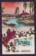 Une Pensée De GRAND ROSIERES - Grand Rosière - Carte Fantaisie  PIA  // - Ramillies