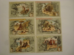 Liebig - Série De 6 Chromos Comme Neufs - S1078 - ROBINSON CRUSOË - 1913 - (lot 119 Bis) - Liebig