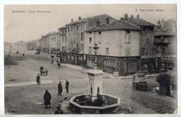 Romans, Cours Bonneveau, 1914, éd. E. Pouvienne (Bonnevaux, Romans-sur-Isère, Café Du Commerce E. Germain - Romans Sur Isere