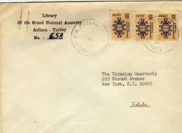 1703  Carta B M Meclisi 1952  Ankara Turquia Turkey - Turquía