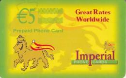 SPAIN - Imperial Prepaid Card 5 Euro, Used - Spanje