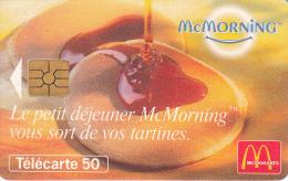 TELECARTE 50 UNITES / MC DONALDS MC MORNING - 600 Agences