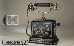 TELECARTE 50 UNITES / COLLECTION HISTORIQUE - TELEPHONE ERICSSON 1900 - France