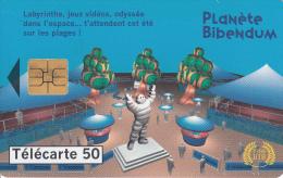 TELECARTE 50 UNITES / MICHELIN - PLANETE BIBENDUM - France
