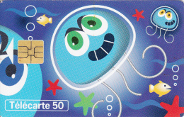 TELECARTE 50 UNITES / LES NUMEROS UTILES ILLUSTRE PAR TINO - France