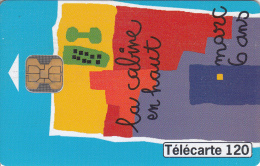 TELECARTE 120 UNITES / COLLECTION DESSINS D'ENFANT - CABINE N°8 MARC 6 ANS - France