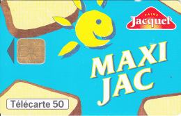 TELECARTE 50 UNITES / PAINS JACQUET - MAXI JAC - 600 Agences
