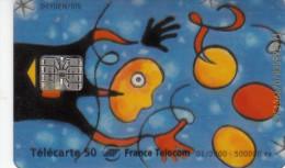 TELECARTE 50 UNITES / FRANCE TELECOM - CARTE TRANSPARENTE - France