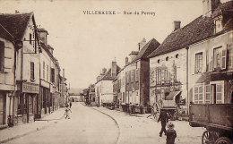 10 CPA VILLENAUXE - Rue Du Perrey - France