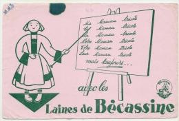 Buvard - ** LES LAINES DE BECASSINE ** - - Textile & Clothing
