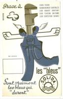BUVARD -   Les Bleus SOLIDA - Textile & Vestimentaire