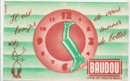 BUVARD -   Il Est Temps De Vous Munir La Botte BAUDOU - - Chaussures