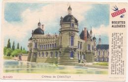 Buvard Petit Format - Biscottes Grégoire - Château De Chantilly - Biscottes