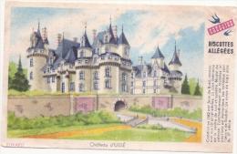 Buvard Petit Format - Biscottes Grégoire - Château D'Ussé - Biscottes